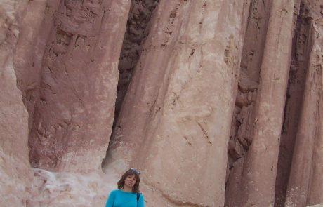 עמודי עמרם בהרי אילת
