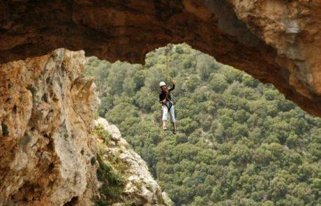 סנפלינג וגלישה זוויתית: פעילות אתגר ואקסטרים בטיולים