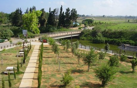 גשר הצבים נחל אלכסנדר: טיול מים במרכז עמק חפר