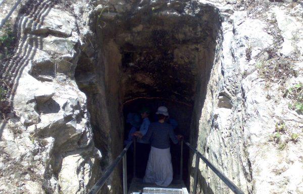 פארק אלונה, מי קדם: אטרקציה וטיול במנהרת מים קדומה