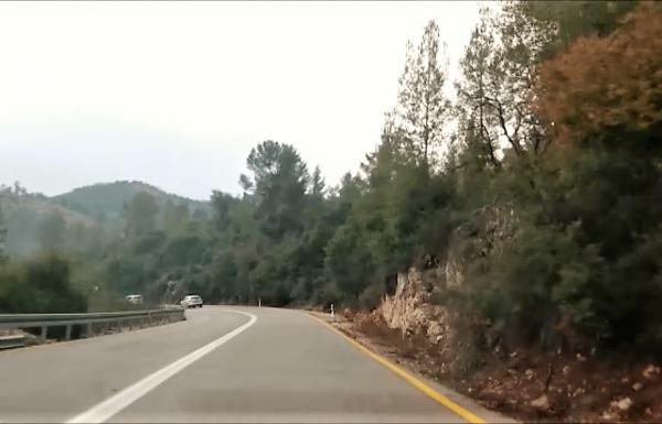 כביש 386 עין כרם עד בר גיורא: דרך נוף מהיפות בישראל