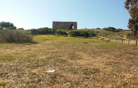 חורבת סמארה על גדות נחל אלכסנדר