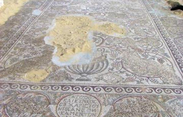 חורבת בית לויה: פסיפס כנסייה ביזנטית, בורות מים, קולומבריה ובתי בד בשפלת יהודה