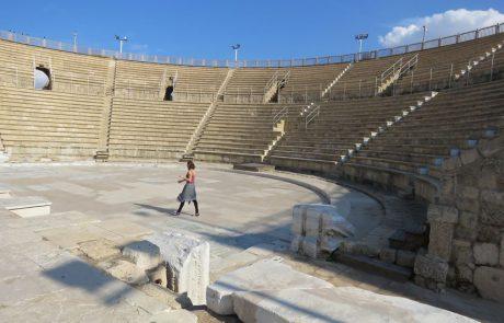 קיסריה העתיקה: עיר רומית מפוארת מתעוררת לתחיה על חוף הים במרכז