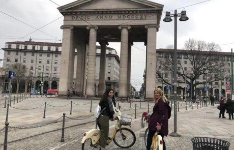שמונה דברים שאתם חייבים לעשות במילאנו: חצי יום בטיול באופניים עירוניים בין חנויות יוקרה, כנסיות, תעלות מים, מכוניות, טראמים ואלפי תיירים