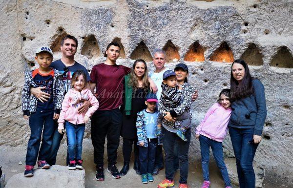 טיול משפחת חובל והילדים: גבעת התורמוסים וחורבת מדרס, חורף 2019