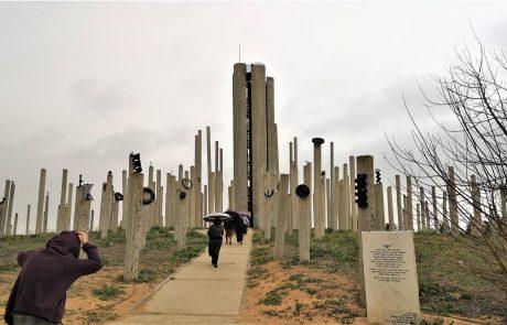 אנדרטת אוגדת הפלדה: תצפית מהממת אל גבול ישראל-מצרים-רצועת עזה