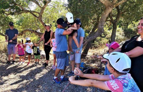 טיול והפעלות הורים וילדים בכרמל: לקבוצת משפחות מצהלה תל אביב