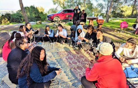סמינר בנות תיכון חרדי מירושלים: טיול פריחה, זחילה במערות, ויום כיף עם הפעלות ופיתות, כשר למהדרין, פברואר 2020