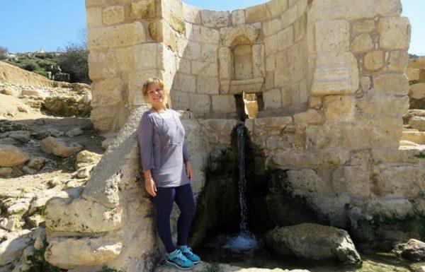 עין חניה: מעין ובריכת מים צלולים ליד ירושלים