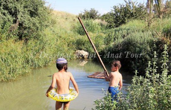 בריכת צאנן: בריכת מים עונתית על נחל גוברין, ליד צומת בית גוברין