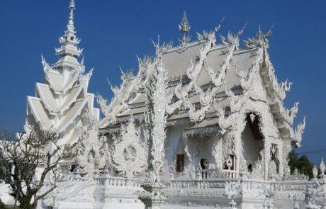 המקדש הלבן הבודהיסטי בצפון תאילנד: ואט רונג קון Wat Rong Khun