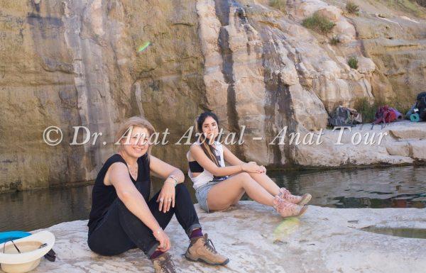 עין עקב: מעיין, מפל וברכת מים טובה לרחצה בהר הנגב