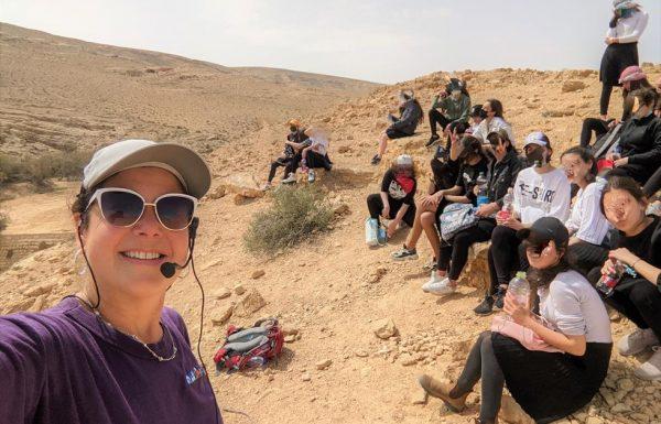 טיול שנתי סמינר תיכון בנות חרדיות, פסגות מירושלים, מרץ 2021: נחל ממשית, חולות צבעוניים והפעלות בפארק אגם ירוחם