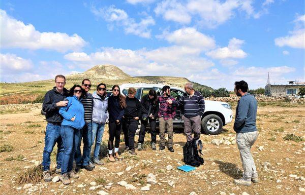 אל בור עוזיהו במדבר יהודה: טיול משפחות של עוזי עם רכב שטח פרטי
