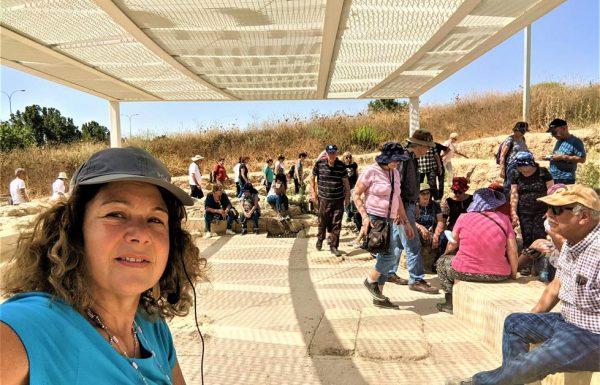 טיול עומק באזור לטרון ושפלת יהודה: למועדון סגל אוניברסיטת תל אביב יוני 2021