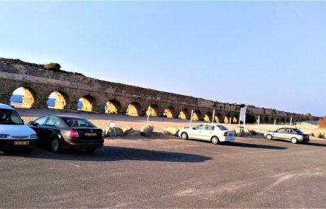 חוף הקשתות – אקוודוקט – אמת המים לקיסריה העתיקה