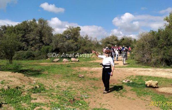 מכתב תודה על טיול גימלאים בהרי ירושלים, מרס 2017