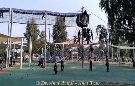 פארק האקליפטוס בבית שאן: מתקנים נפלאים לילדים