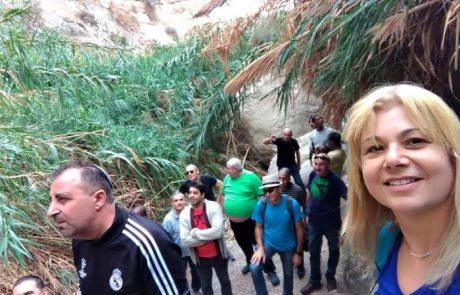 טיול ויום כיף בים המלח ועין גדי: עובדי גל משטחים שדרות, דצמבר 2017