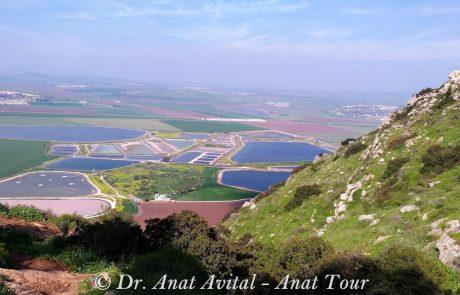 תל יוסף הישנה: אתר התיישבות, נופי עמק חרוד וחניון בגלבוע