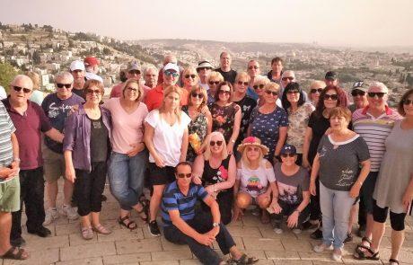 גימלאים של מיכה: טיול בעקבות לוחמים, גדר ההפרדה ועוטף ירושלים, מאי 2018
