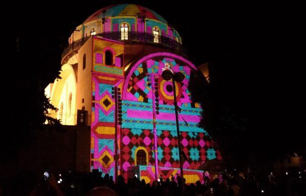 פסטיבל האור בירושלים, יוני-יולי Jerusalem Festival of Light June-July 2018