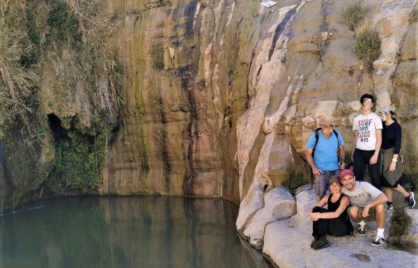 טיול VIP למשפחת ביסמוט אל הנגב והמכתשים: חוויית רגלי, ג'יפ ושטח, אפריל 2019