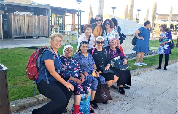 טיול ערב לגימלאים מקסימים מחדיד: קיסריה העתיקה ונפלאותיה, יולי 2019