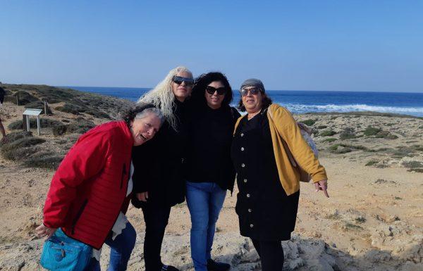 טיול ויום כיף לעובדי בית אבות קרית מנחם ירושלים, דצמבר 2019: חוף הכרמל ואירוח דרוזי
