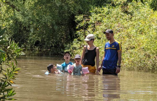 הזאכי (הזכי) בגולן: טיול מים רטוב ומרענן בערוצי הנחלים יהודיה והמשושים בצפון