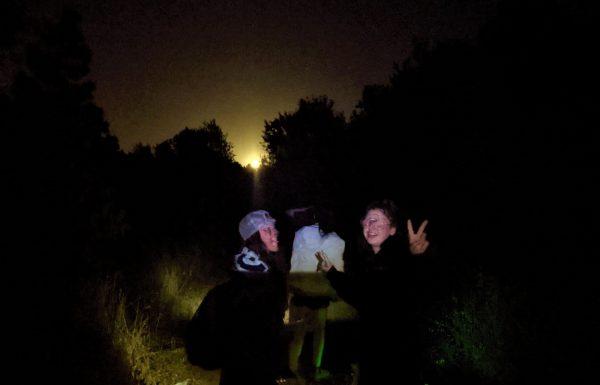"""טיול לילה ל""""ג בעומר לסמינר בנות חרדיות """"פסגות"""" מירושלים: פנסים ועששיות, אפיית פיתות ובישולי שדה"""